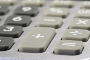 details of a desk-top calculator 01